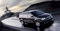 2011 Chrysler Town & Country, Front three quarter view. , exterior, manufacturer