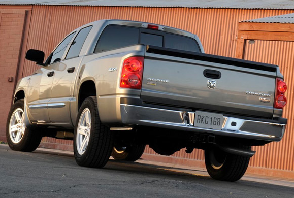 2011 Ram Dakota, Back View. , manufacturer, exterior