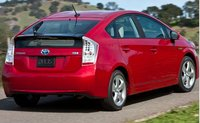 2011 Toyota Prius, Back View. , exterior, manufacturer, gallery_worthy