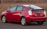 2011 Toyota Prius, Back three quarter view. , exterior, manufacturer, gallery_worthy