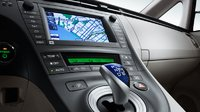 2011 Toyota Prius, Close-up of stereo. , manufacturer, interior