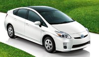 2011 Toyota Prius, Front three quarter view. , exterior, manufacturer