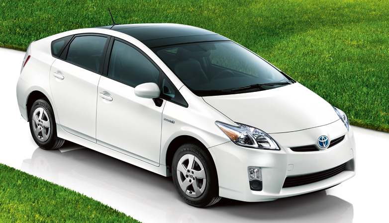 2011 Toyota Prius, Front three quarter view. , manufacturer, exterior