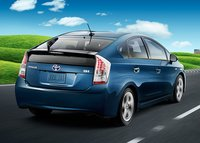 2011 Toyota Prius, Back quarter view. , exterior, manufacturer, gallery_worthy