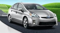 2011 Toyota Prius, Three quarter view. , exterior, manufacturer