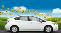 2011 Toyota Prius, Side View. , exterior, manufacturer