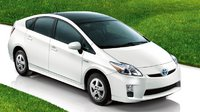 2011 Toyota Prius, Three quarter view., manufacturer, exterior
