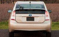 2011 Toyota Prius, Back View. , exterior, manufacturer