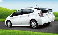 2011 Toyota Prius, Back three quarter view. , exterior, manufacturer