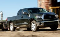 2011 Toyota Tundra, Fronth three quarter view. , exterior, manufacturer