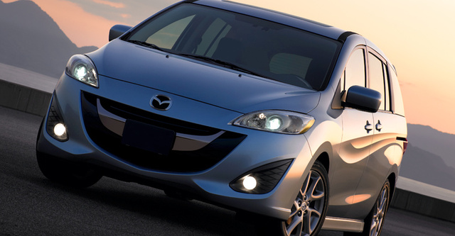 2012 Mazda MAZDA5, Front View. , exterior, manufacturer