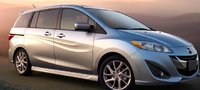 2012 Mazda MAZDA5, Three quarter view. , manufacturer, exterior