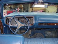 1972 Plymouth Fury, These are the controls, this is my office, interior
