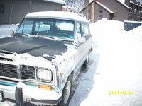 1980 Jeep Cherokee, more snow, exterior