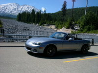 2005 Mazda MAZDASPEED MX-5 Miata 2 Dr Grand Touring Turbo Convertible, Mt St Helen's Lava Bed, exterior