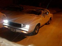 1981 Chevrolet Monte Carlo, Snowey, exterior