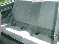 1981 Honda Accord LX Hatchback, Sun shining across seat, interior, gallery_worthy