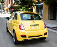 2012 FIAT 500, Back View. , exterior, manufacturer, gallery_worthy