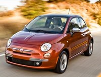 2012 FIAT 500, Front three quarter view. , exterior, manufacturer, gallery_worthy