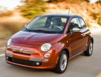 2012 FIAT 500, Front three quarter view. , exterior, manufacturer