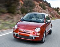 2012 FIAT 500, Front three quarter view. , manufacturer, exterior