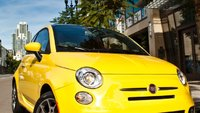2012 Fiat 500, Front View., exterior, manufacturer