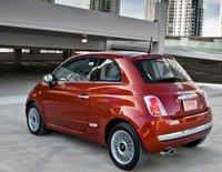 2012 FIAT 500, Side quarter view. , manufacturer, exterior