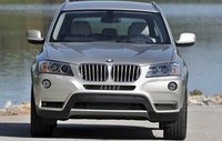 2011 BMW X3, Front View. , exterior, manufacturer