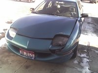 1996 Pontiac Sunfire 4 Dr SE Sedan, After the accident, exterior