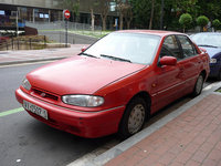 1994 Hyundai Elantra 4 Dr GLS Sedan, Same style, different country and different colour. , exterior