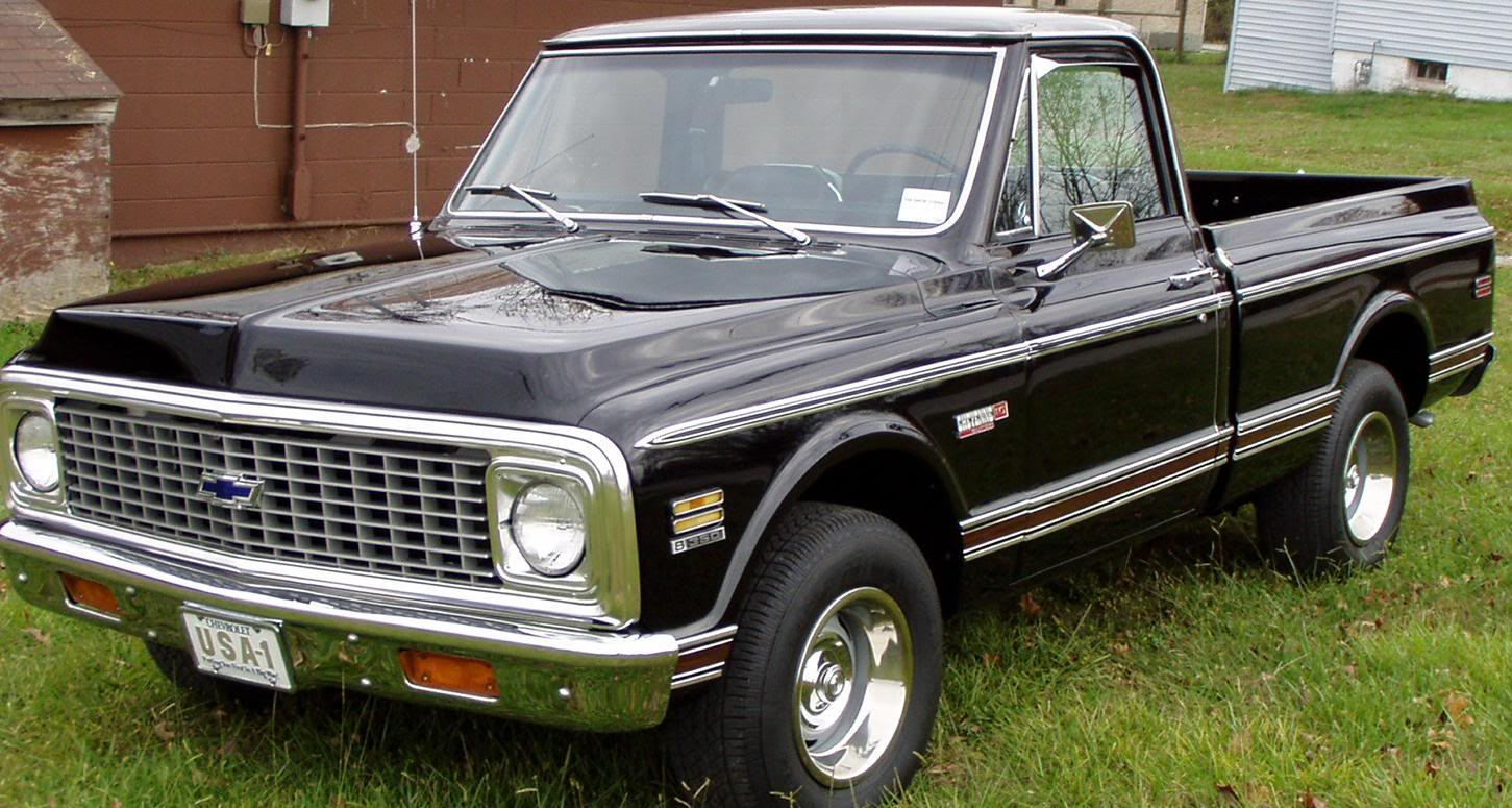 1972 chevrolet custom deluxe c 10 c10 c 10 c 10 pickup truck chevy 1 2 - 63 Chevy With A 383 Stroker Chevy Truck Pinterest Chevy Cars And Gm Trucks
