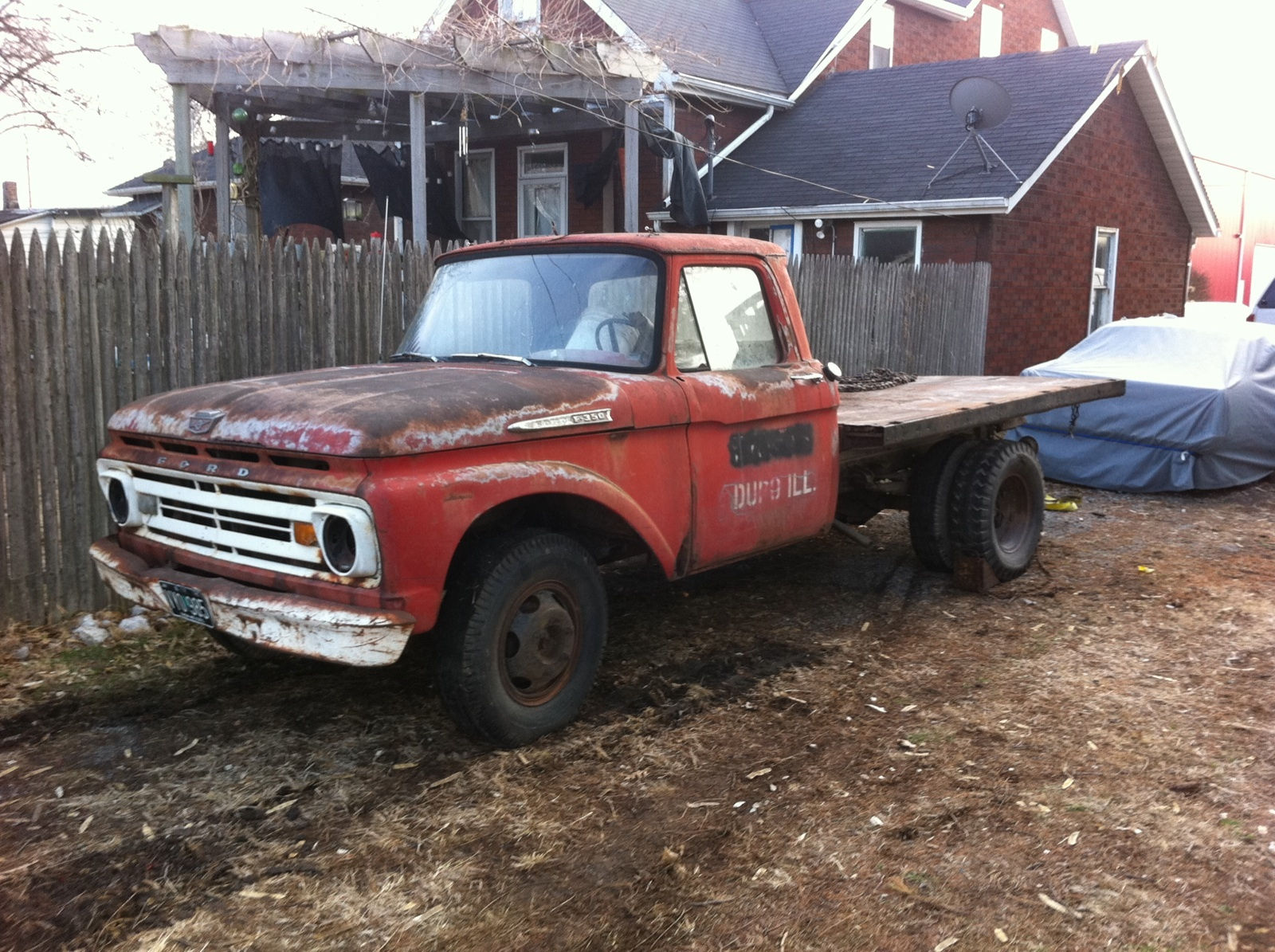 Ford F 350 Questions Will Body Parts From A F250 Work On F350 1969 Dump Truck Cargurus