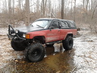 1985 Toyota 4Runner, 5:29s w detroit tru trac locker in rear 37'' swampers / header /8000 lb ramsey and 6'' of sup lift .. theres always someway to make it better !, exterior