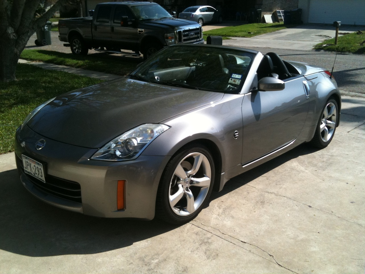 Used 2004 Ford Mustang Picture of 2007 Nissan 350Z Touring Roadster, exterior