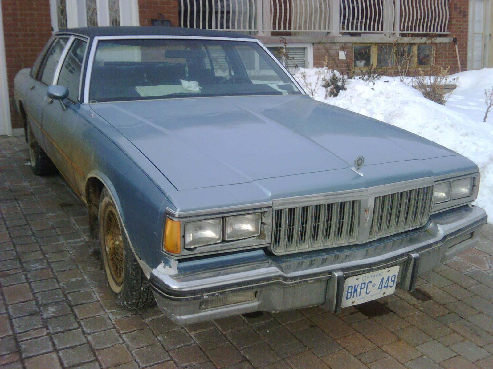 1982 Pontiac Parisienne Overview Cargurus