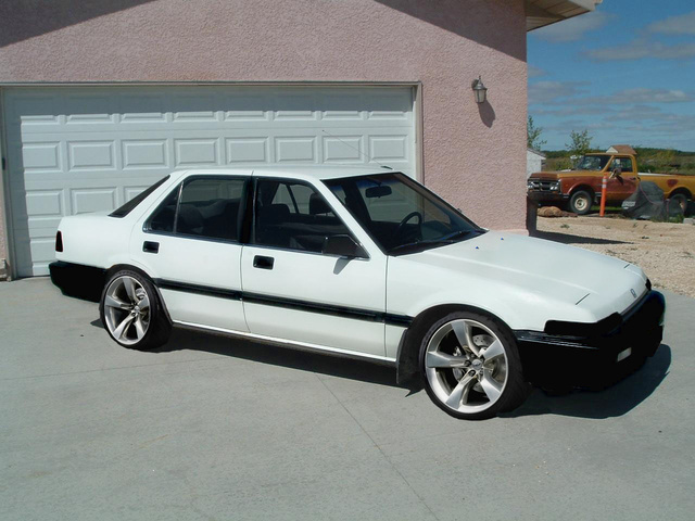 1989 honda accord - pictures