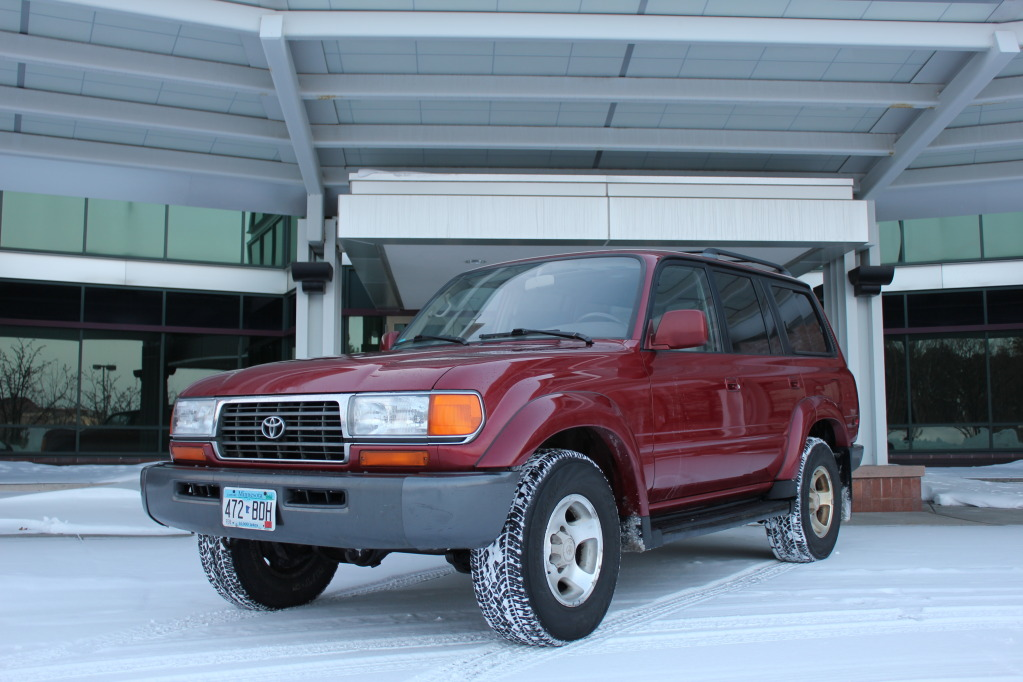 Picture of 1996 toyota land cruiser 4 dr std 4wd suv exterior