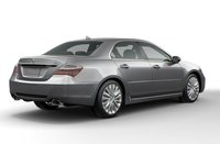 2011 Acura RL, Back three quarter view. , exterior, manufacturer