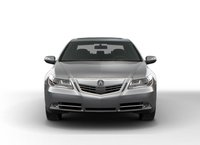 2011 Acura RL, Front View. , exterior, manufacturer