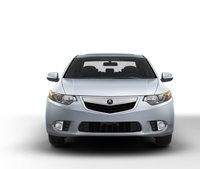 2011 Acura TSX, Front View. , exterior, manufacturer