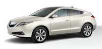 2011 Acura ZDX, Front three quarter view. , exterior, manufacturer