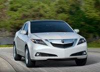 2011 Acura ZDX, Front View. , exterior, manufacturer
