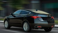 2011 Acura ZDX, Back View., exterior, manufacturer, gallery_worthy