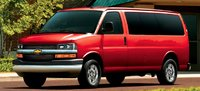 2011 Chevrolet Express Cargo, Front three quarter view. , exterior, manufacturer