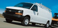 2011 Chevrolet Express Cargo, Front three quarter view. , manufacturer, exterior