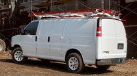 2011 Chevrolet Express Cargo, Back three quarter view. , manufacturer, exterior