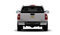 2011 Chevrolet Silverado Hybrid, Back View. , exterior, manufacturer
