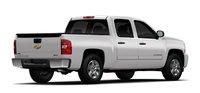 2011 Chevrolet Silverado Hybrid, Back quarter View. , exterior, manufacturer