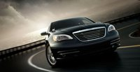 2011 Chrysler 200, Front three quarter view. , exterior, manufacturer