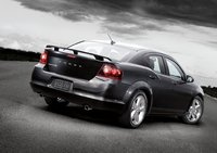 2011 Dodge Avenger, Back three quarter view. , exterior, manufacturer
